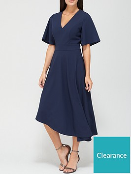 v-by-very-macey-belted-angel-sleeve-prom-dress-navy