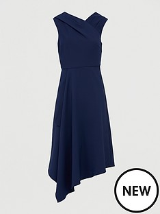 v-by-very-mila-draped-skirt-prom-dress-navy