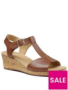 hotter-martinique-wedge-heeled-t-bar-sandals-tan