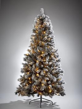 6ft-black-forest-flocked-pre-lit-christmas-tree