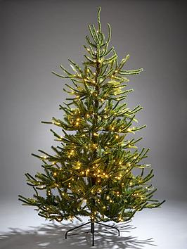 6ft-fraser-fir-upswept-pre-lit-mixed-tips-christmas-tree