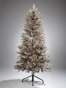 prod1089703936: 6ft Champagne Sparkle Christmas Tree