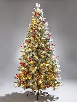 6ft-vermont-flocked-pre-lit-mixed-tips-christmas-tree