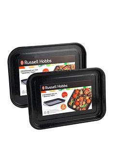 russell-hobbs-romano-vitreous-enamelnbsp2-piece-baking-tray-set
