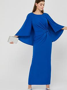 monsoon-cara-cape-maxi-dress-blue