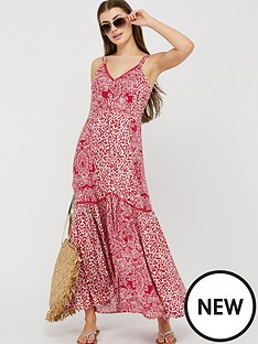monsoon-sunita-print-ecovero-maxi-dress-pink