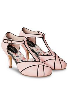 joe-browns-very-vintage-t-bar-shoes-pink-black