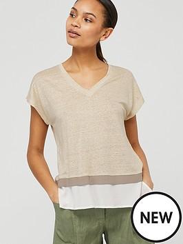 monsoon-wallace-linen-t-shirt-stone