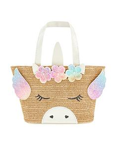 monsoon-girls-flying-freya-unicorn-basket-bag-natural