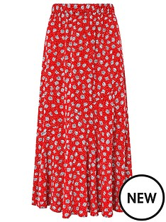 monsoon-arwinnbspdaisy-print-skirt-red