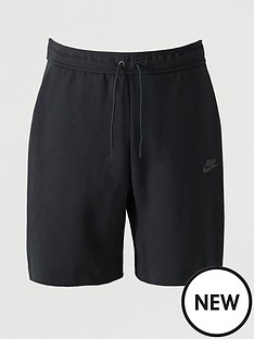 nike-sportswear-fleece-tech-shorts-black