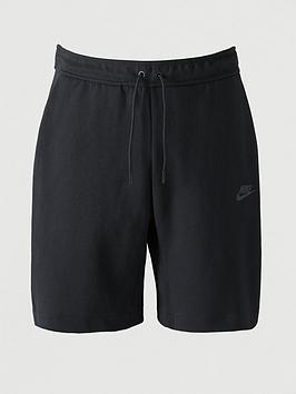 nike-sportswear-fleece-tech-shorts-black
