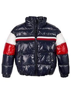tommy-hilfiger-girls-shiny-colourblock-padded-jacket