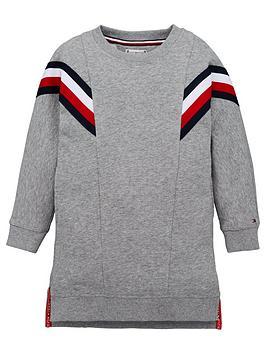 tommy-hilfiger-girls-global-stripe-sweat-dress-grey