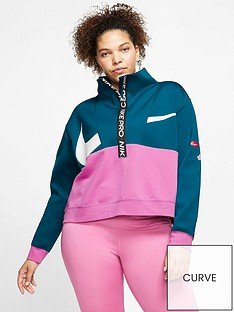 nike-training-get-fit-just-do-it-zip-top-curve-bluepinknbsp