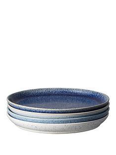 denby-studio-blue-4-piece-coupe-dinner-plate-set
