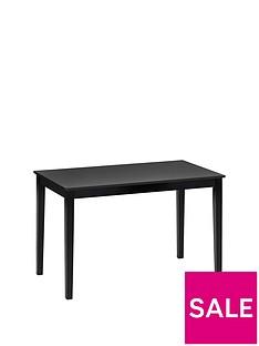 prod1089344360: Hudson 114 cmDining Table - Black