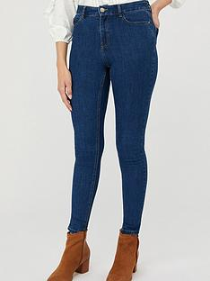 monsoon-iris-skinny-cotton-short-length-jeans-blue