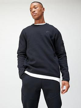 nike-nsw-tech-fleece-crew-sweat-top-black