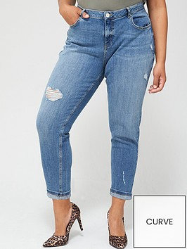 v-by-very-curve-turn-up-hem-girlfriend-jeans-mid-wash