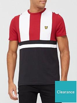 lyle-scott-fitness-club-short-sleeve-t-shirt-blackredwhite