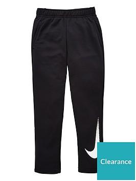 nike-older-boys-dry-fleece-pant-black-white