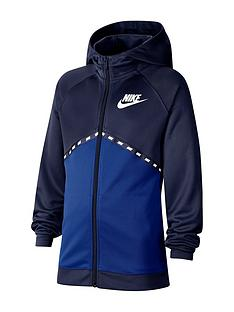 nike-older-boys-poly-full-zip-hoodie-navy
