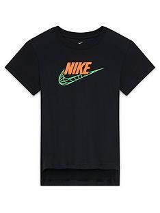 nike-older-childrensnbspt-shirt-black