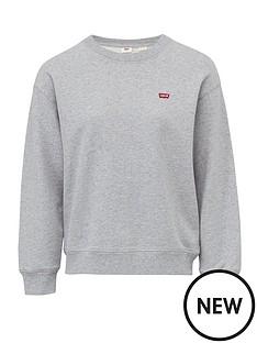 levis-standard-crew-neck-sweatshirt-grey