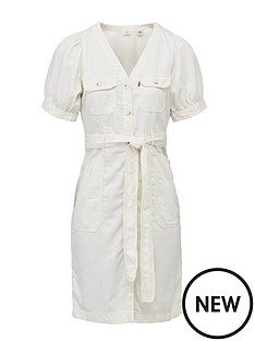 levis-bryn-dress-cream