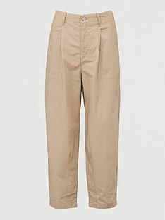 levis-utility-pleated-balloon-trousersnbsp-beige