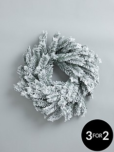 ready-to-decorate-flocked-wreath