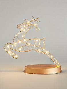 prancing-reindeer-metal-room-light-christmas-decoration