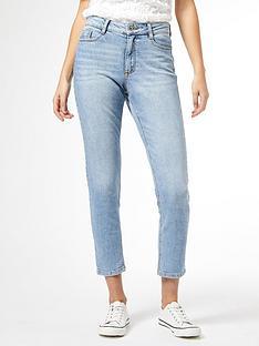 dorothy-perkins-mom-jeans-light-wash