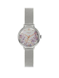 radley-radley-silver-and-rose-gold-detail-dial-stainless-steel-mesh-strap-ladies-watch