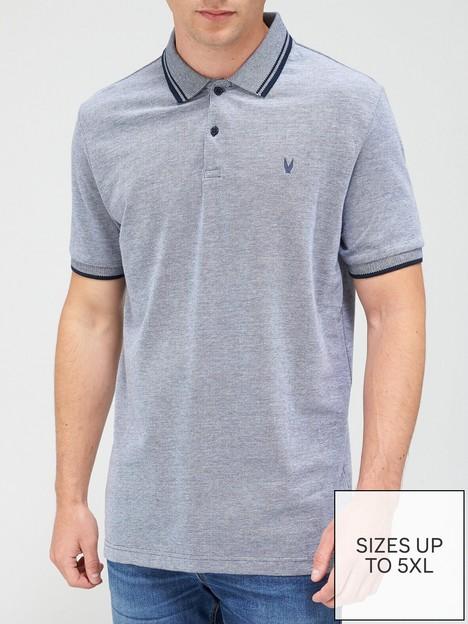 very-man-essentialsnbsppique-polo-shirt-navy