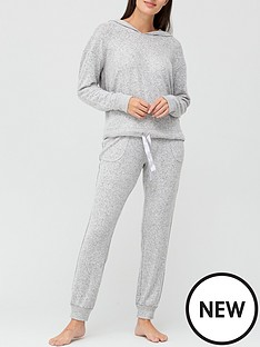 v-by-very-hooded-velvet-trim-lounge-set-grey