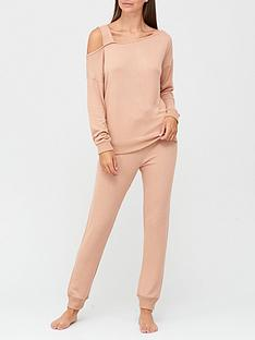 v-by-very-premiumnbspoff-the-shoulder-lounge-set-camel