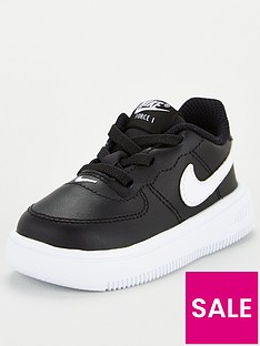 nike-air-force-1-18-td-childrens-trainer-blackwhite