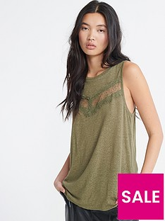 superdry-chevron-lace-vest-top-green