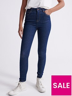 superdry-high-rise-skinny-jeans-blue
