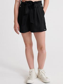 superdry-desert-paper-bag-shorts-black
