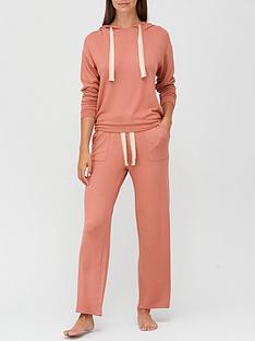 v-by-very-lurex-trim-hooded-lounge-set-rose-pink