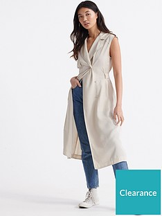 superdry-desert-wrap-dress-oat-bran