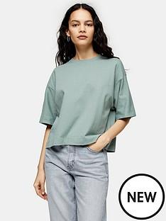 topshop-panel-boxy-t-shirt-mint