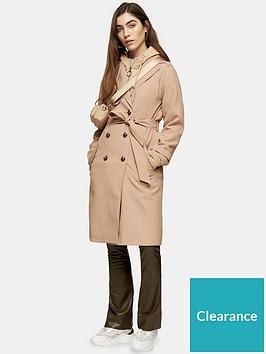 topshop-sophia-trench-coat-camel