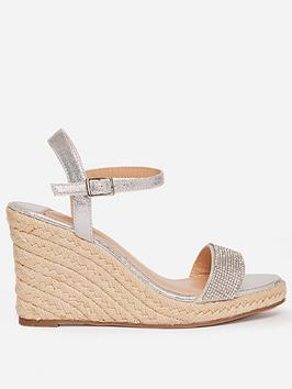 dorothy-perkins-wide-fitnbspraaraa-embellished-wedged-shoe-grey