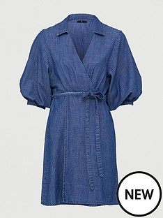 v-by-very-wrap-over-soft-dress-mid-wash