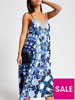 river-island-river-island-tie-dye-slip-midi-beach-dress-blue