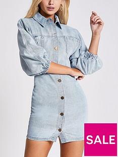river-island-denim-shirt-dress-mid-blue